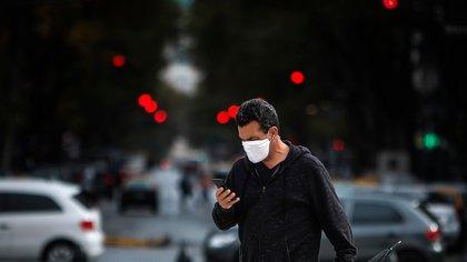 """El gobierno cordobés instó a que se tome """"conciencia"""" y se cumpla con el distanciamiento social y todas las medidas sanitarias preventivas (EFE)"""