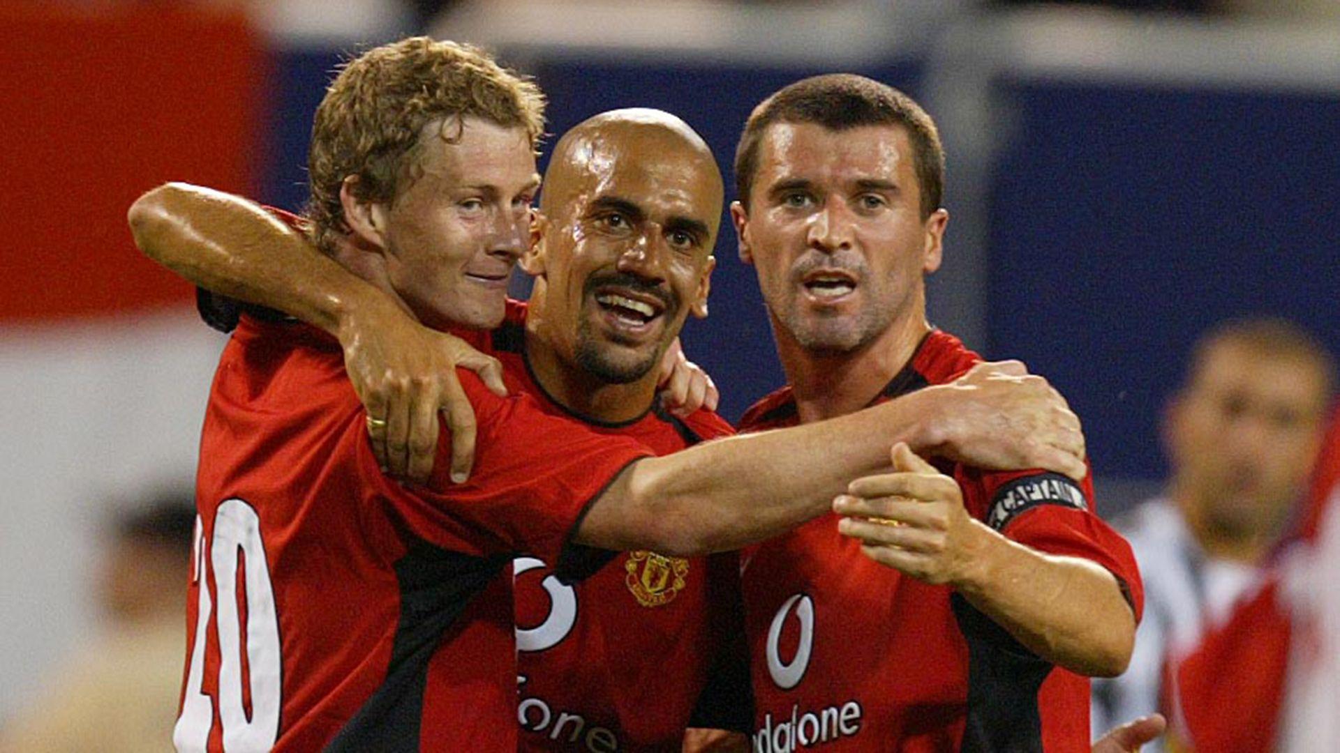 Verón jugó dos temporadas en el Manchester United entre 2001 y 2003 Foto: Shutterstock