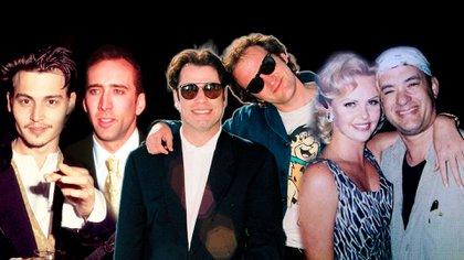Johnny Depp, Charlize Theron y John Travolta tuvieron el respaldo de  otrs famosos en sus inicios o en los momentos más bajos de sus carreras