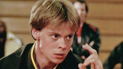 """Garrison interpretó a Tommy en las dos primeras entregas de """"Karate Kid"""""""