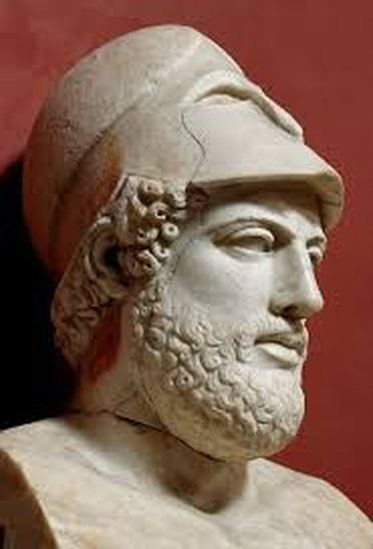 Pericles, el estadista ateniense que murió en la epidemia de peste del siglo V a.C.