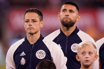 México se impuso a la selección de Estados Unidos con goles del Chicharito, Erick Gutiérrez y Uriel Antuna. (Foto: Twitter)