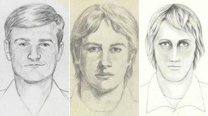 Las autoridades realizaron varios identikit a lo largo de los años para dar con DeAngelo
