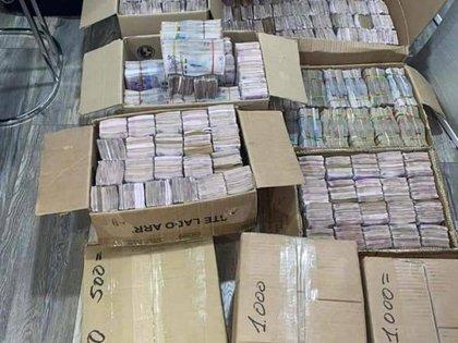 Caleta de $8.744 millones en Cali, perteneciente al narcotraficante Lucio Burbano Portilla, conocido dentro de la mafia mexicana por vender coca de alta pureza.