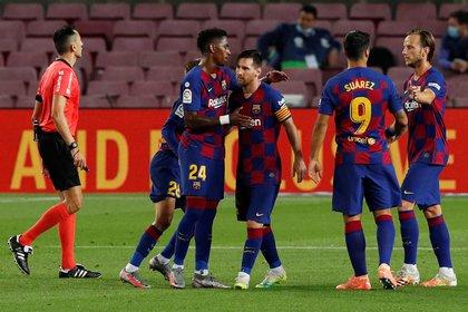 El 8 de agosto jugarán en un Camp Nou vacío - REUTERS/Albert Gea