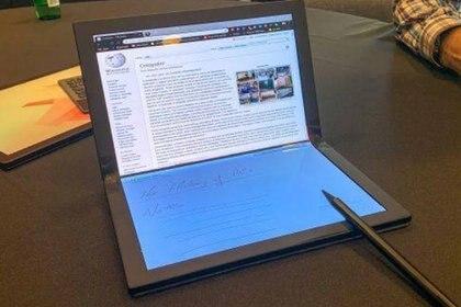 Lenovo dijo que pusieron más atención en las bisagras de a pantalla (Foto: Twitter)