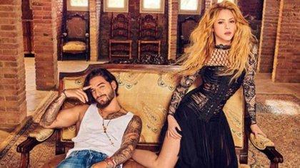 Los cantantes colombianos Maluma y Shakira han colaborado en tres temas
