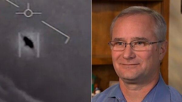 David Fravor aseguró que tuvo un encuentro con un ovni en noviembre de 2004 (ABC News)