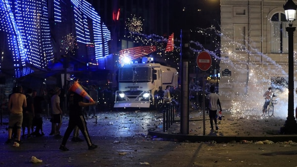 Incidentes en París (Reuters)