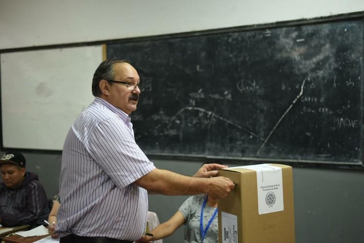 El candidato del Frente de Todos, Sergio