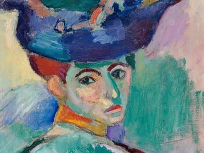 Mujer con sombrero, de Henri Matisse, Museo de Arte Moderno de San Francisco