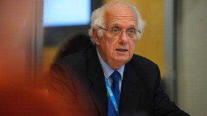 Didier Houssin, titular del Comité de Emergencia del Reglamento Sanitario Internacional sobre el coronavirus