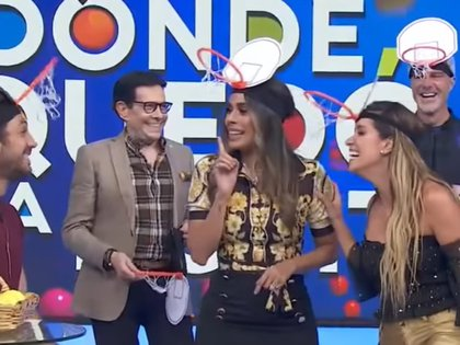 Galilea Montijo dijo que no sintió nada raro en una zona del cuerpo de Andrea Escalona que ha sido cuestionada (Captura de pantalla- YouTube-Hoy)