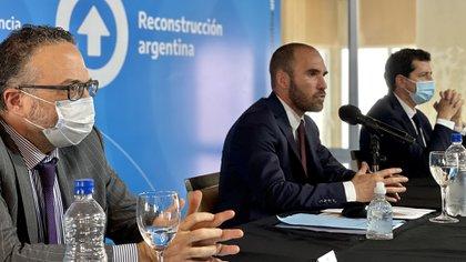 """Martín Guzmán dijo que es """"factible"""" reducir la inflación 5 puntos porcentuales este año tras el 36,1% con que cerró 2020. (Foto: Ministerio de Economía)"""