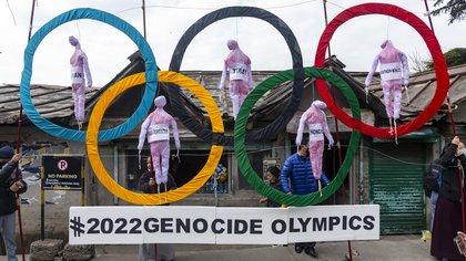 Aumenta la presión de los grupos de derechos humanos para boicotear los Juegos Olímpicos de Invierno en Beijing
