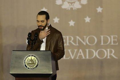 El presidente de El Salvador, Nayib Bukele EFE/Rodrigo Sura