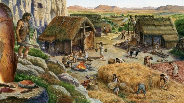 La revolución neolítica transformó radicalmente la forma de vida de la humanidad