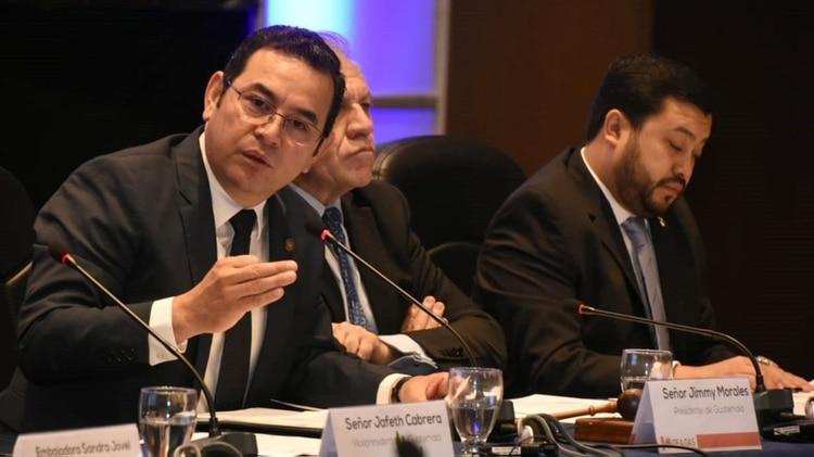 Jimmy Morales, presidente de Guatemala desde 2016 (EFE/ Cortesía Secretaría de Comunicación Social de la Presidencia de Guatemala)