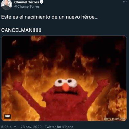 (Foto: Twitter@ChumelTorres)