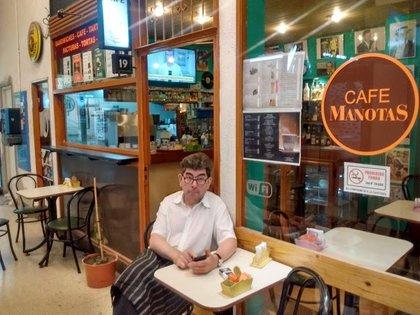 Al igual que todo el sector gastronómico, el Café Manotas sufrió un duro golpe con la pandemia y la cuarentena