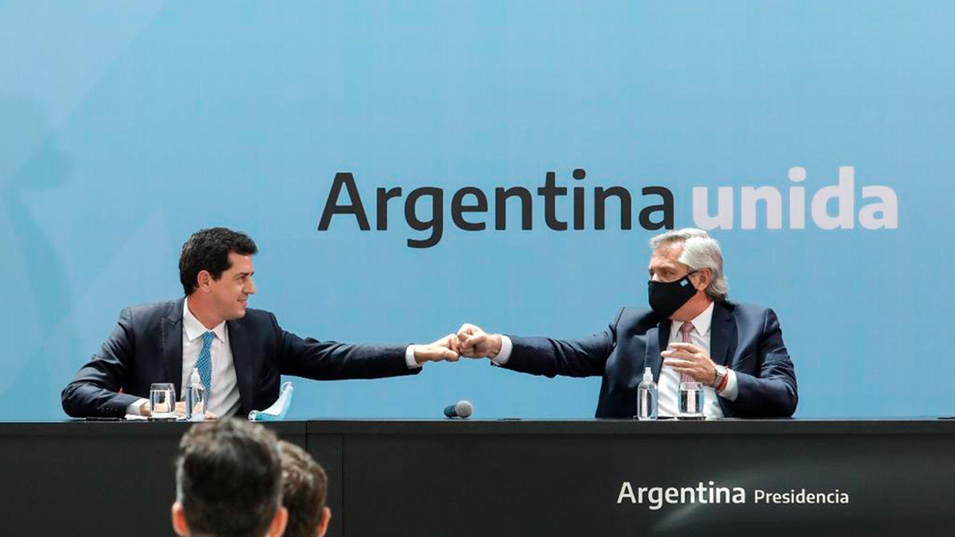 firma del pacto fiscal alberto fernandez y gobernadores