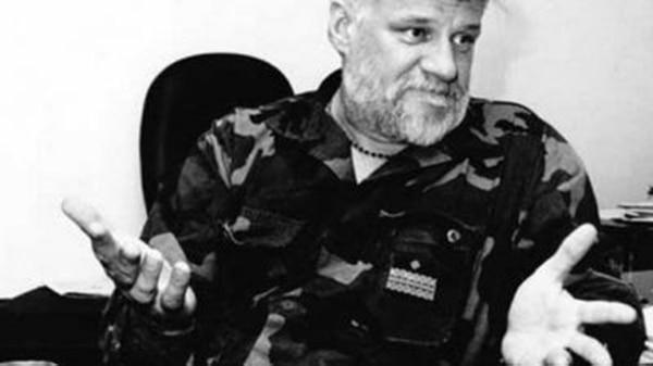 Slobodan Praljak, condenado en 2013 a 20 años en prisión