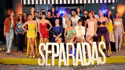 """El elenco completo de """"Separadas"""" (Crédito: Darío Batallán / Teleshow )"""