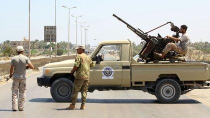 Milicias libias (AFP)