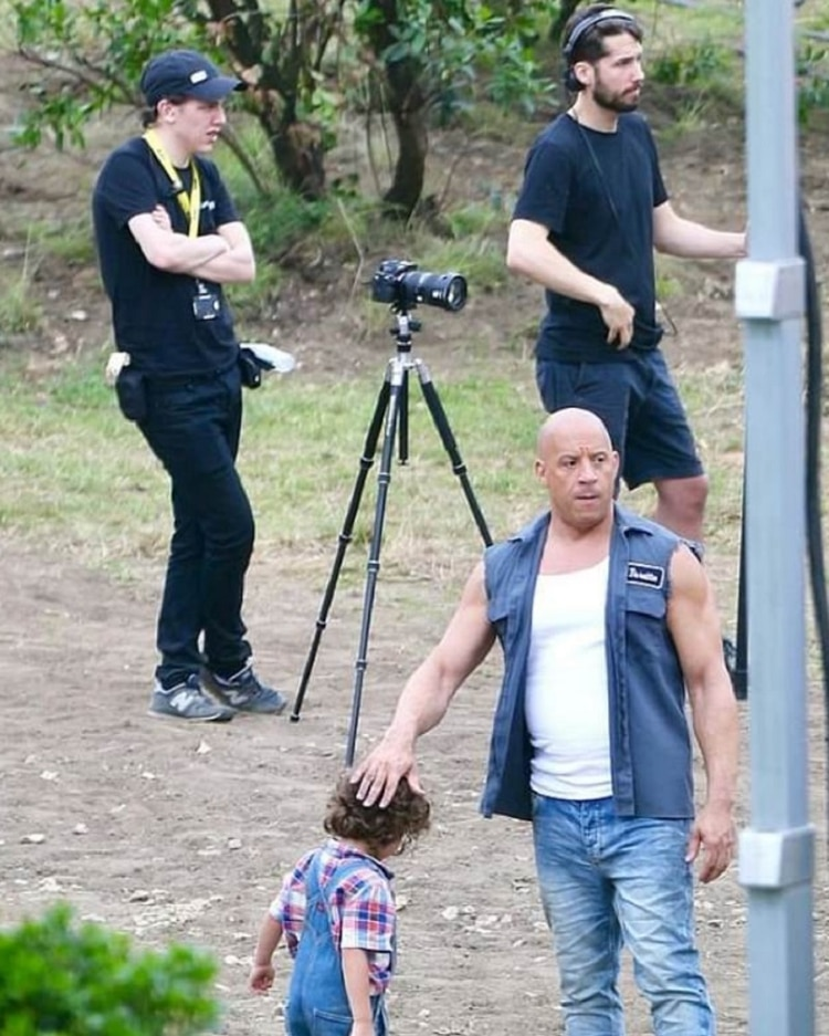 Vin Diesel se encontraba en el set de rodaje cuando ocurrió el accidente (Foto: especial)