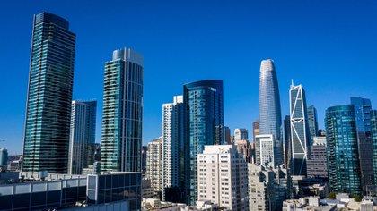 Rascacielos de San Francisco, los cuales han recibido baja actividad debido a la pandemia  (Foto: Bloomberg/Archivo)