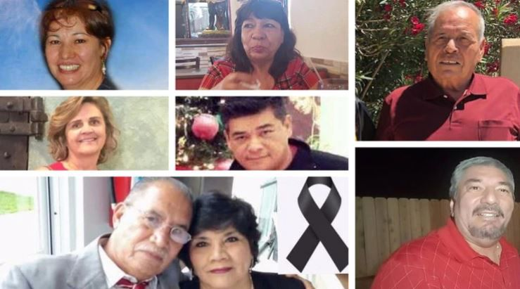 Ocho mexicanos murieron en El Paso. (Foto: Especial)
