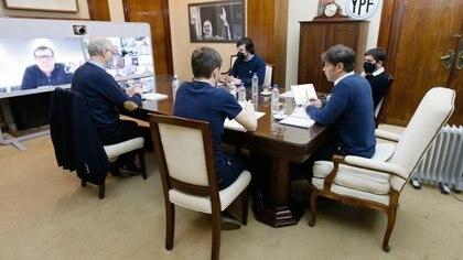 De la videoconferencia con Kicillof formaron parte todos los intendentes de la costa atlántica