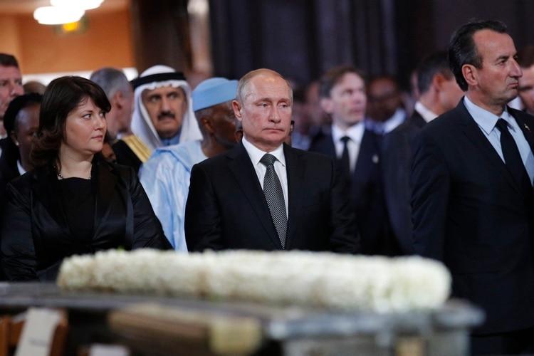 El presidente ruso Vladimir Putin (Francois Mori / POOL / AFP)