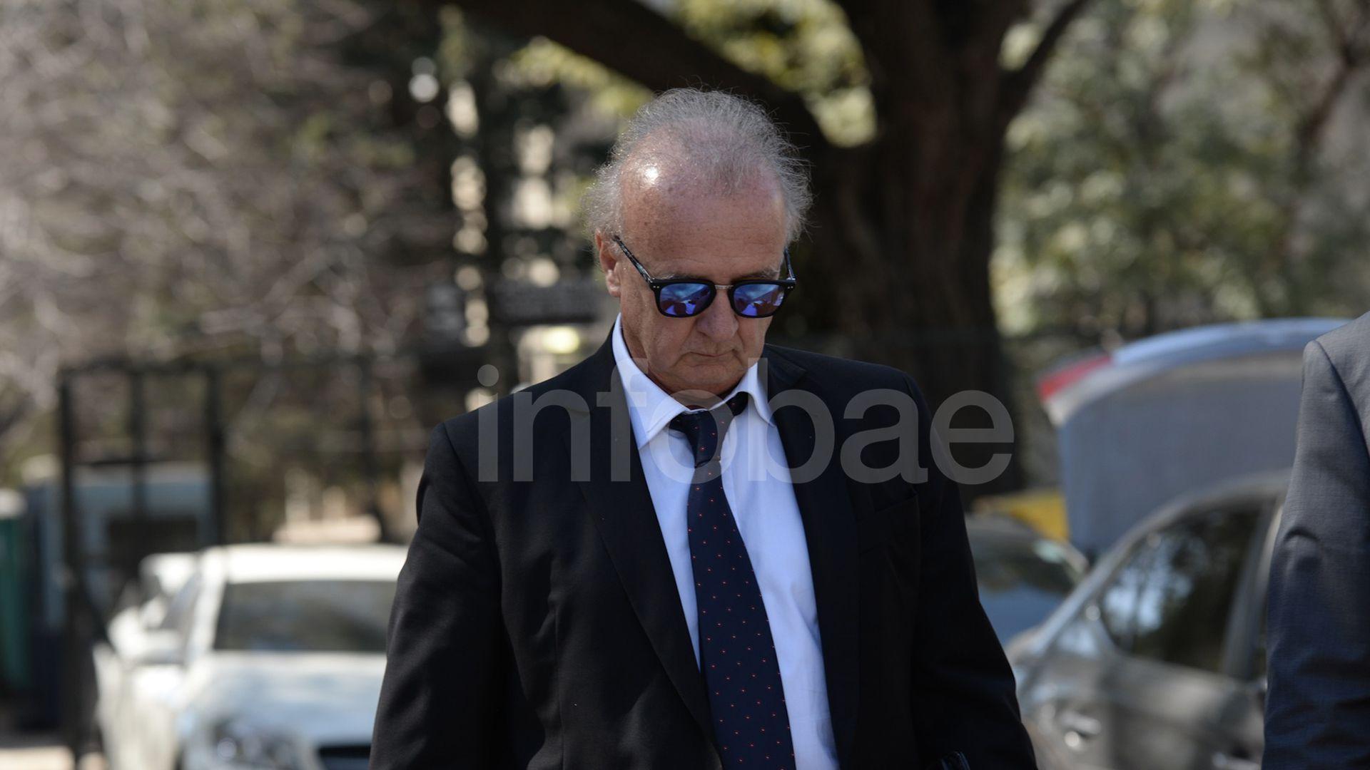 El financista Ernesto Clarens (Fotos: Julieta Ferrario)
