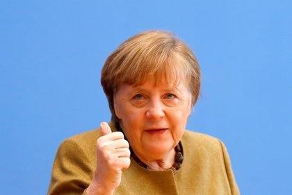 La canciller alemana, Angela Merkel. REUTERS/Fabrizio Bensch