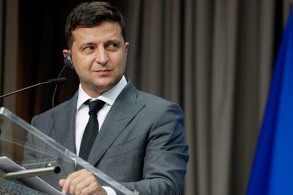 El presidente de Ucrania, Volodymyr Zelensky