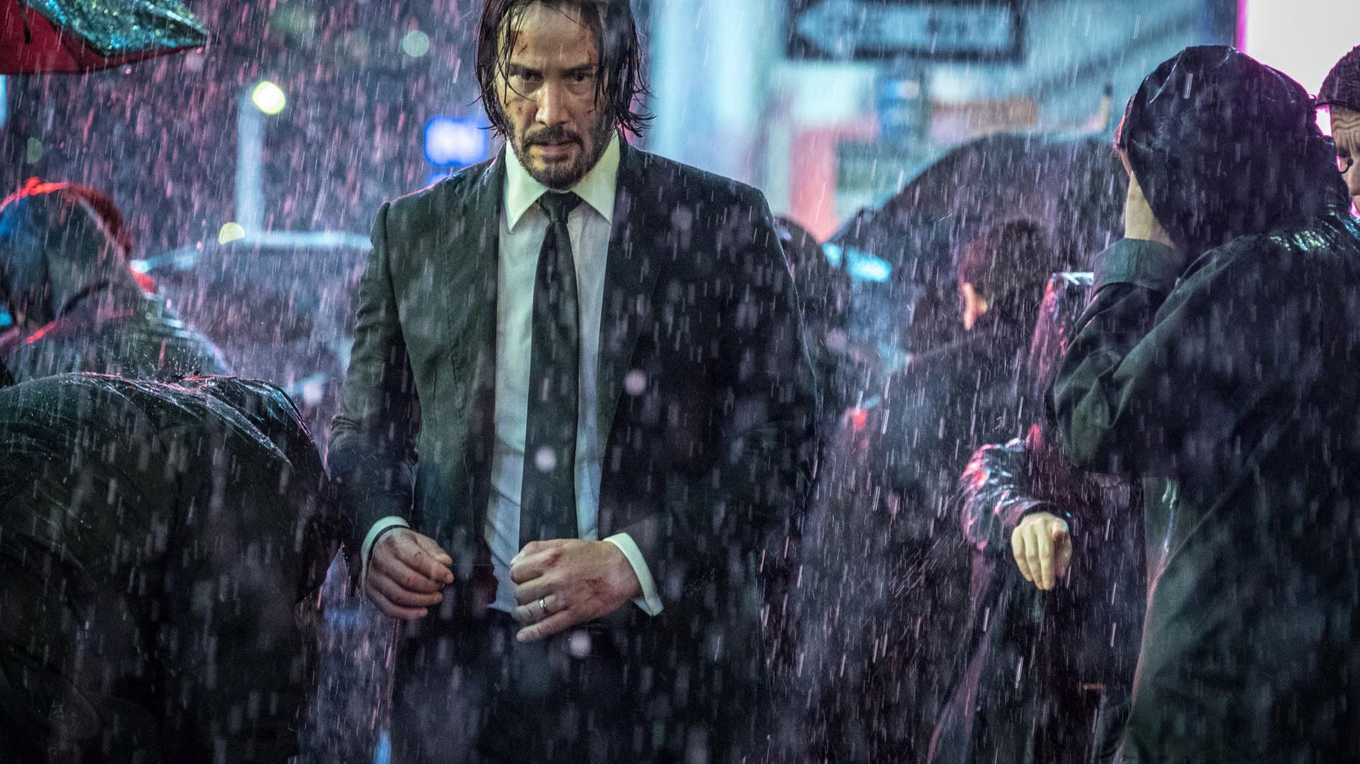 En John Wick 3, Parabellum Keanu Reeves es un asesino a sueldo que lucha por su vida en Nueva York.