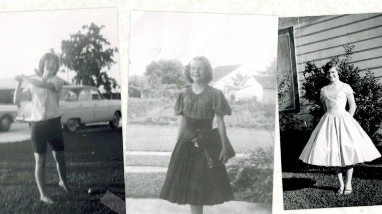 Janis en su adolescencia