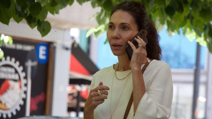 María Cher, tras la reunión con Fernández