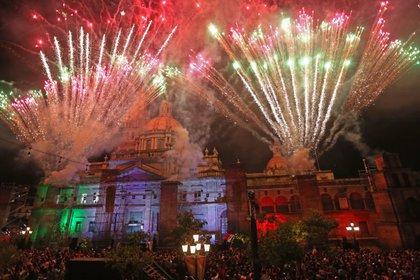 Debido a la pandemia del coronavirus los festejos de agosto, septiembre y octubre serán diferentes en Jalisco, anunció Enrique Alfaro, gobernador del estado (Foto: Cuartoscuro)