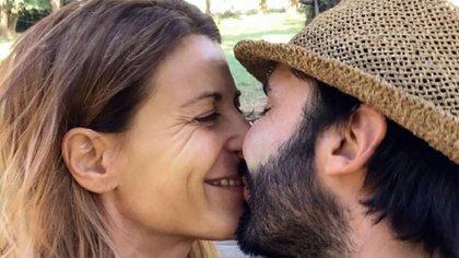 María Eugenia Tobal y Francisco García Ibar, muy enamorados (Instagram)