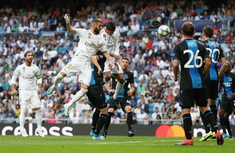 El irregular andar de Real Madrid en la Champions, el nuevo foco de conflicto (REUTERS/Sergio Perez)