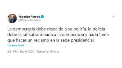 Federico Pinedo - @PinedoFederico