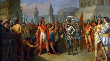 El encuentro entre el emperador azteca, Moctezuma, y el conquistador español Hernán Cortés tuvo lugar en 1519, hace 500 años