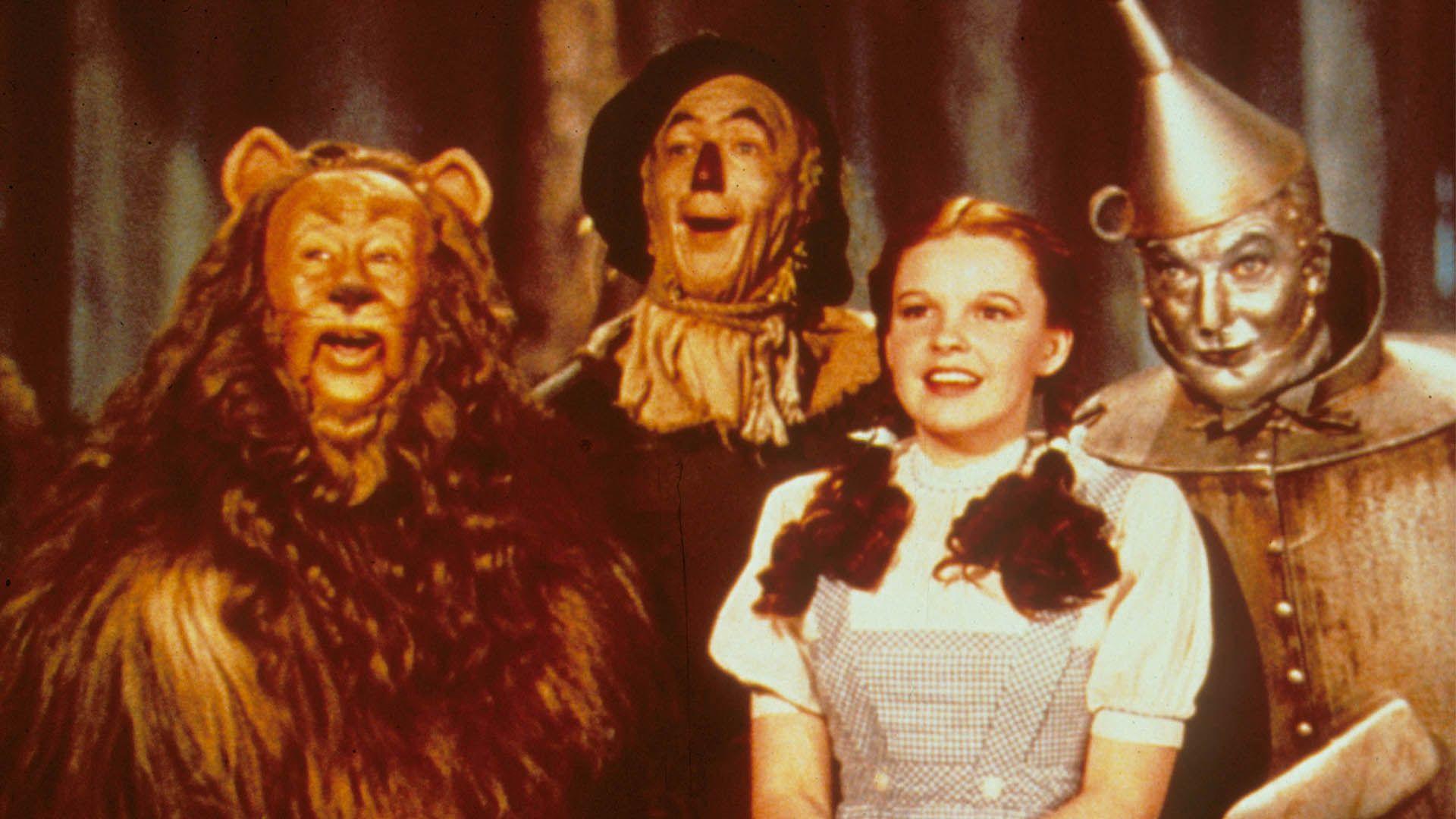 """""""El mago de Oz"""" se estrenó en 1939 (Shutterstock)"""