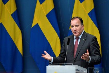 Stephen Lofven, primer ministro de Suecia (a través de TT News / REUTERS Henrik Montgomery)