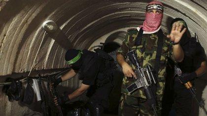 Hamas moviliza a sus terroristas a través de una extensa red de túneles