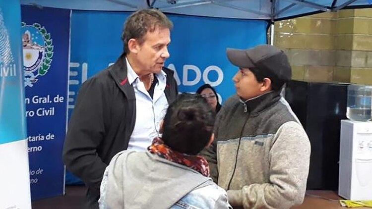 El senador Eduardo Costa, el candidato de Cambiemos en Santa Cruz