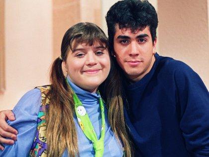 Angélica Ruvalcaba durante las grabaciones de Alcanzar una estrella (Foto: Archivo)