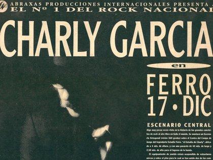 """Promoción del Ferro del '93 (""""Esta noche toca Charly"""")"""